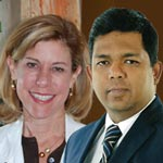 Dr. Lisa Jenks and Naren Arulrajah