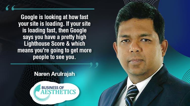 Business of Aesthetics by Naren Arulrajah
