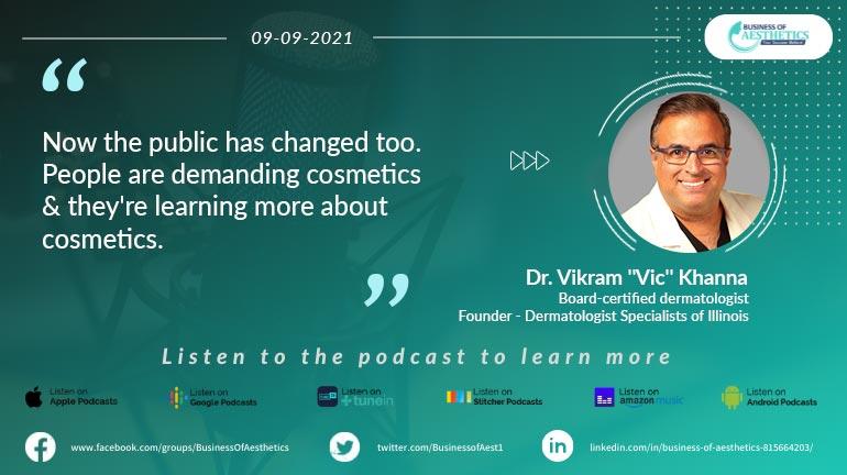 Business of Aesthetics by Dr. Vikram Khanna