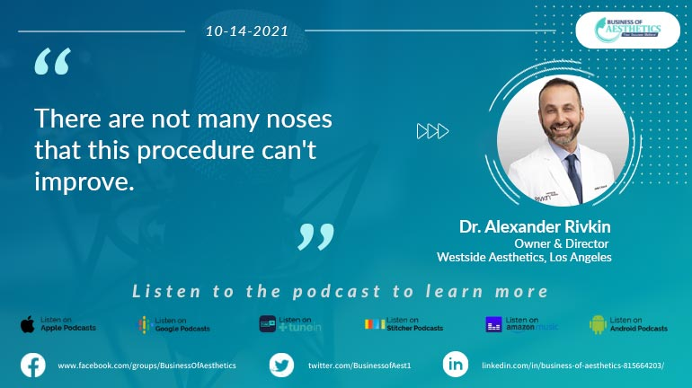 Business of Aesthetics by Dr. Alexander Rivkin
